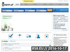 Miniaturka domeny www.8opon.pl