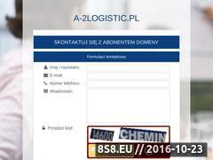Miniaturka domeny a-2logistic.pl