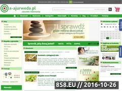 Miniaturka domeny www.a-ajurweda.pl