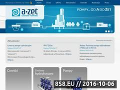 Miniaturka domeny www.a-zet.pl