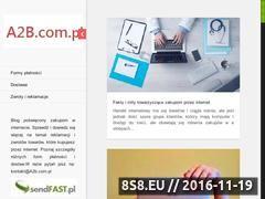 Miniaturka domeny a2b.com.pl