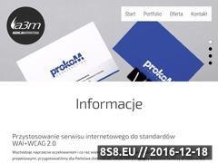 Miniaturka domeny www.a3m.pl