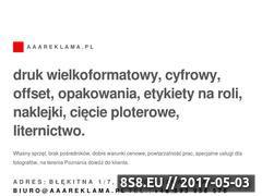 Miniaturka aaareklama.pl (Drukarnia, reklama i gadżety)