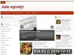 Miniaturka domeny www.aale-ogrody.pl
