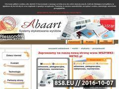Miniaturka domeny www.abaart.pl
