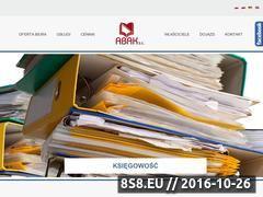 Miniaturka domeny www.abak.finn.pl
