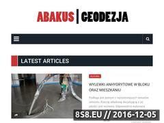 Miniaturka domeny abakus-geodezja.pl