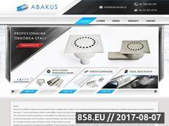 Miniaturka domeny www.abakuskratki.pl