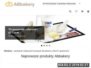 Zrzut strony Akcesoria piekarnicze - sklep ABbakery