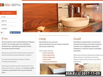 Zrzut strony Remonty Warszawa. ABC-Domu.pl Remonty mieszkań i domów w Warszawie.