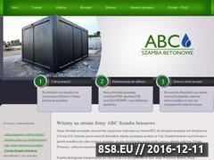 Miniaturka domeny www.abc-szambabetonowe.pl