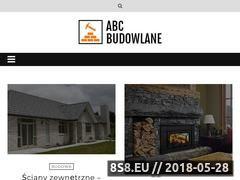 Miniaturka abcbudowlane.pl (Rady jak budować dom)