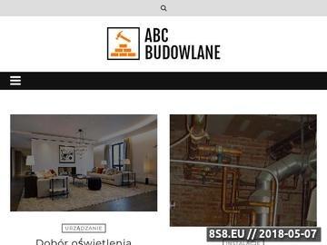 Zrzut strony ABC Budowlane