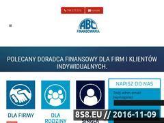 Miniaturka domeny abcfinansowania.pl