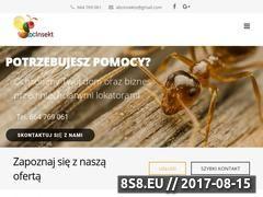 Miniaturka abcinsekt.pl (Deratyzacja Białystok)