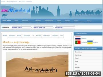 Zrzut strony Maroko