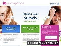 Miniaturka domeny abcmigrena.pl