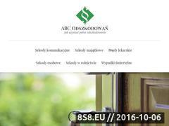 Miniaturka domeny www.abcodszkodowan.pl