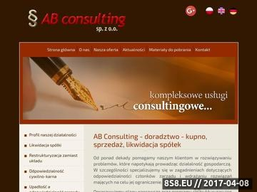 Zrzut strony Consulting