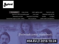 Miniaturka domeny abcplexi.com.pl