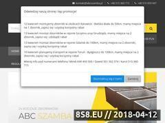 Miniaturka domeny abcszamba.pl