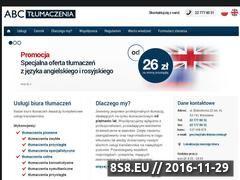 Miniaturka domeny abctlumaczenia.pl