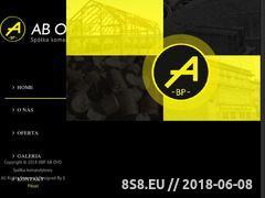 Miniaturka www.abovopoland.eu (Sprzedaż brykietu torfowego i inne usługi)