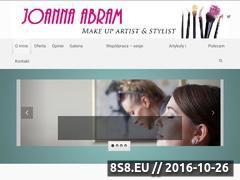 Miniaturka domeny www.abram-makeup.com