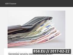 Miniaturka <strong>blog</strong> o finansach (abrfinanse.pl)