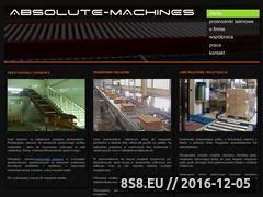 Miniaturka domeny www.absolute-machines.pl