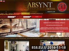 Miniaturka domeny www.absynthostel.pl