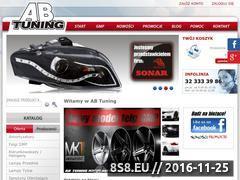 Miniaturka domeny www.abtuning.pl