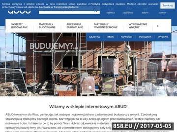 Zrzut strony Sklep budowlany - materiały budowlane, farby, materiały izolacyjne