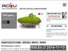 Miniaturka domeny www.ac4u-klimatyzacja.pl