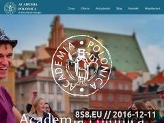 Miniaturka Academia Polonica (www.academiapolonica.com)