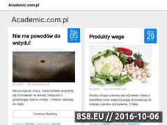 Miniaturka domeny www.academic.com.pl