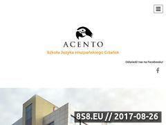 Miniaturka domeny acento-gdansk.pl