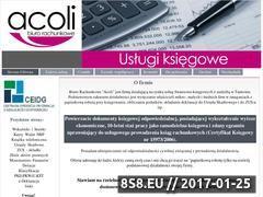 Miniaturka domeny www.acoli.pl
