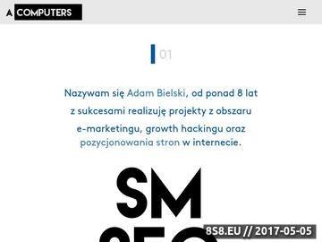 Zrzut strony Acomputers - Strony WWW