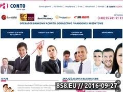 Miniaturka Kalkulatory kredytowe i doradztwo (aconto.pl)