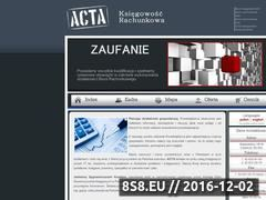 Miniaturka domeny www.acta.net.pl