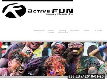 Zrzut strony Firmowe imprezy integracyjne