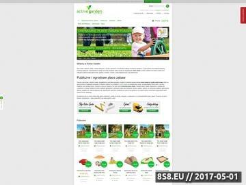 Zrzut strony Active Garden - Sport i Zabawa