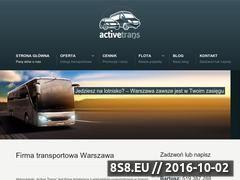 Miniaturka domeny activetrans.eu