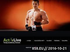 Miniaturka domeny www.activlive.pl