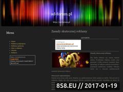 Miniaturka domeny ad-forum.pl