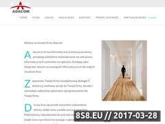 Miniaturka domeny www.adacom.pl