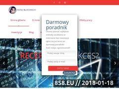 Miniaturka adamblachnicki.pl (Zarabianie w sieci - szkolenia i porady jak zacząć)