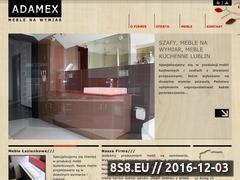 Miniaturka domeny adamex-meble.pl