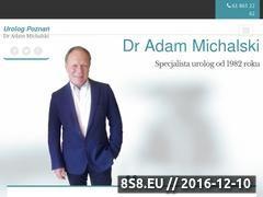 Miniaturka domeny www.adammichalski.pl